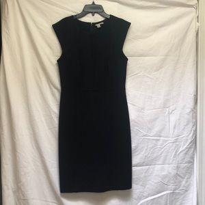 Black scuba style dress. Like new.